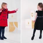Vestido de inverno infantil