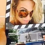 Gabi D'avila participa de gravação do vídeo clipe da dupla Bruno e Camilo