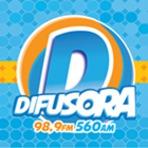 Ouvir a Rádio Difusora 98.9 FM - Patrocínio / MG