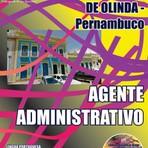 Apostila Concurso Câmara Municipal de Olinda-PE 2015 - Agente Administrativo