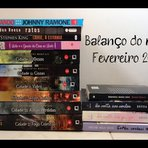 Balanço do mês fevereiro/2015: book haul + comprinhas