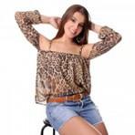 Looks de uso de blusinhas ciganinhas