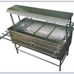 Negócios & Marketing - Fabricante de balcão self-service de distribuição inox aquecido banho maria - Solution Inox