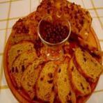 Pão de páscoa com granola