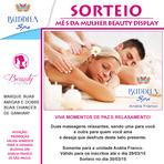 Beauty Display e Buddah Spa Anália Franco em promoção CONFIRA é grátis