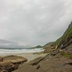 Diário SC: Chegada em Florianópolis, Praia Mole e Praia da Galheta