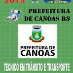 Apostila Tecnico Municipal Tecnico em Transito e Transportes Prefeitura de Canoas RS Concurso 2015 - Apostilas So Concursos