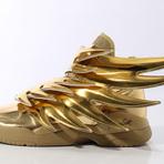 Tênis Adidas Jeremy Scott Asas edição exclusiva em dourado