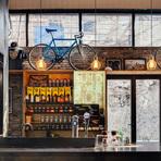 Loja de bicicletas ganha decoração moderna em Xangai