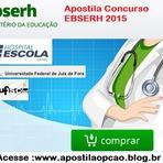 Apostila A Empresa Brasileira de Serviços Hospitalares (Ebserh)  2015