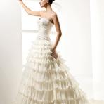 Vestidos de noivas com babados