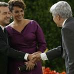 'Império': Beatriz apresenta novo namorado para Cláudio, que fica com ciúmes