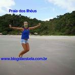 Blog da Estela: Praia dos Ilhéus (deserta) - Santa Catarina - SC