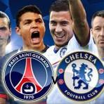 Chelsea X PSG (Paris Saint-Germain) ao vivo hoje valendo vaga