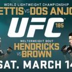 Brasileiro tenta título neste sábado no UFC 185