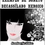 Poesias - Soneto Decassílabo Heroico - Soneto Alma de Amor
