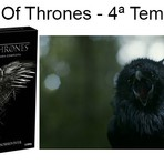 Game of Thrones 4º temporada em DVD e Blu-ray !