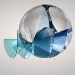 """Cientistas britânicos encontram uma estranha bola metálica, que seria uma """"semente"""" alienígena."""