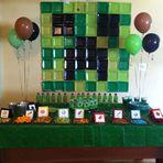 Como Fazer Festa Minecraft