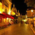 Noite em Paris!