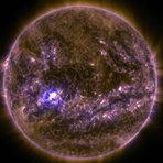 Nasa registra primeira grande explosão solar do ano