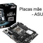 Placa Mãe com memória DDR4 da ASUS