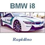 BMW i8: Viatura Policial de Dubai