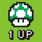 Estampa Personalizada 1UP Mario Bros