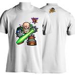 Camiseta Série Megaman - Sigma's Light Saber