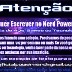 Nerd Power Precisa de Você!
