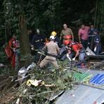 Acidente com ônibus na Serra Dona Francisca deixa mais de 50 mortos