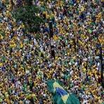 Datafolha diz que foram à Avenida Paulista 210 mil pessoas durante todo o dia deste 15 de março