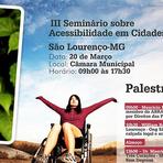 III seminário acessibilidade em cidades turística