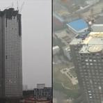 Construtora chinesa consegue erguer arranha-céu de 57 andares em 19 dias Veja o Vídeo
