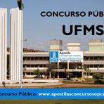 Concurso Universidade Federal UFMS do Mato Grosso do Sul - Apostila 2015