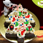 Hoje eu vou de Bolo de Natal, Delivery Tortas, Bolos, Pavê