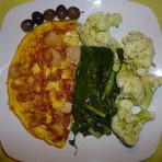 Omeleta de nabo!