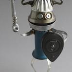 Robôs engraçados feitos de sucata de Brian Marshall