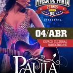 04 de abril de 2015 - show com Paula Fernandes