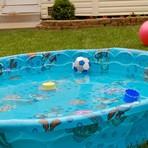 Tratamento de água em piscinas de plástico