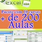 Pacote com 10 cursos de Excel VBA