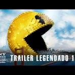 Assista o trailer, tem Adam Sandler, Pac-Man assassino e games retrô