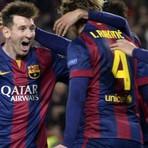 Messi tem atuação de gala, e Barça elimina City