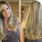Luzes nos cabelos