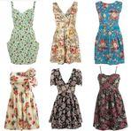 Vestidos florais de verão