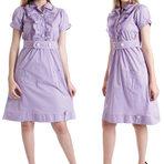 Vestidos em tricoline