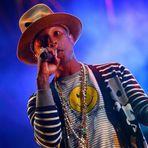 Lollapalooza Brasil ao vivo no Multishow. Pharrell, Calvin Harris são destaques
