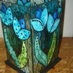 Pintura em vidro vitral