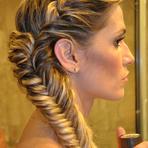 Penteados com trança lateral