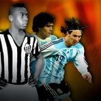 Mais Uma Tentativa De Eleger Um Argentino Melhor Que Pelé.